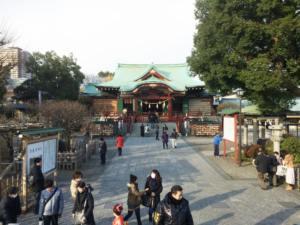 亀戸天神(東京・亀戸)