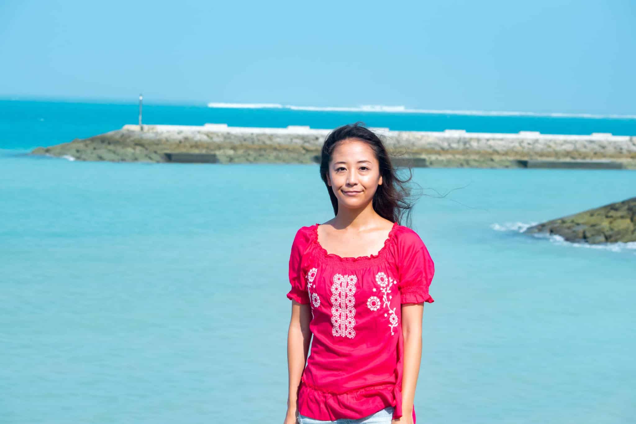 女性の沖縄移住