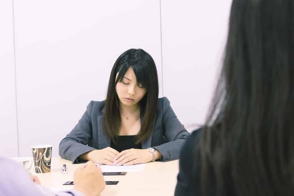 会議中に眠い
