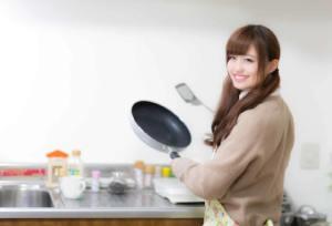 彼氏に手料理を作る