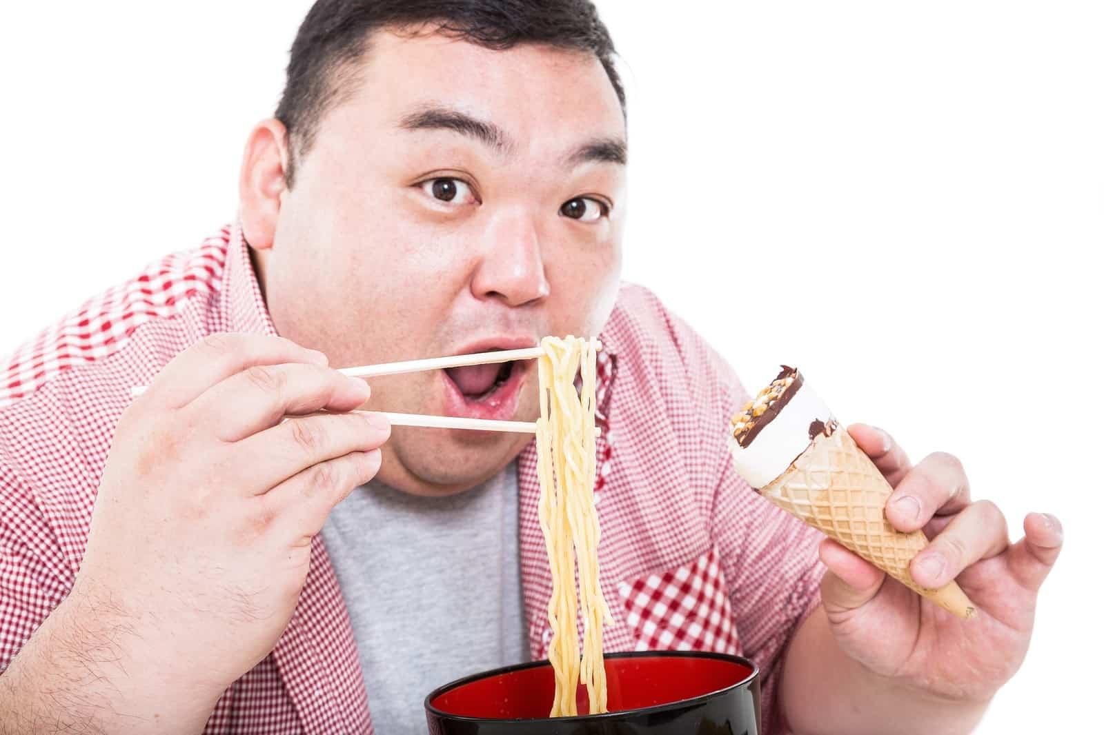 食べるの好きすぎて彼氏が激太り?太った彼氏の対処法