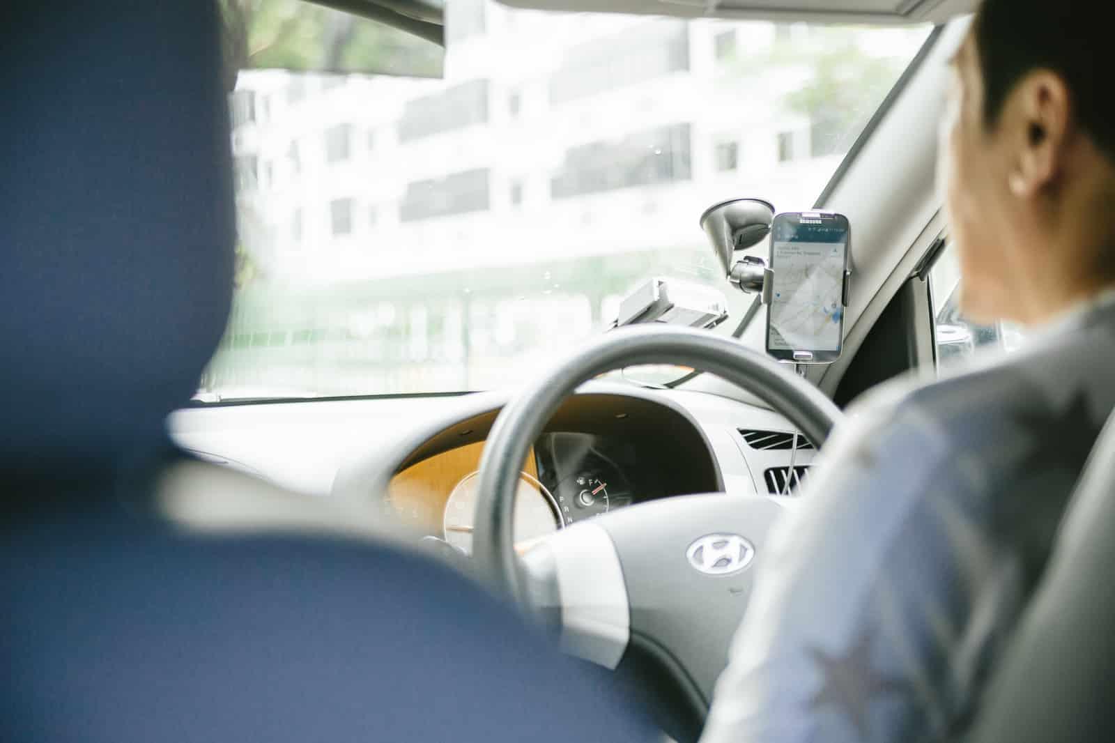 彼氏とのドライブ